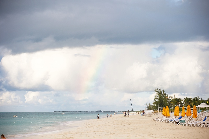 Rainbow over Turks and Caicos