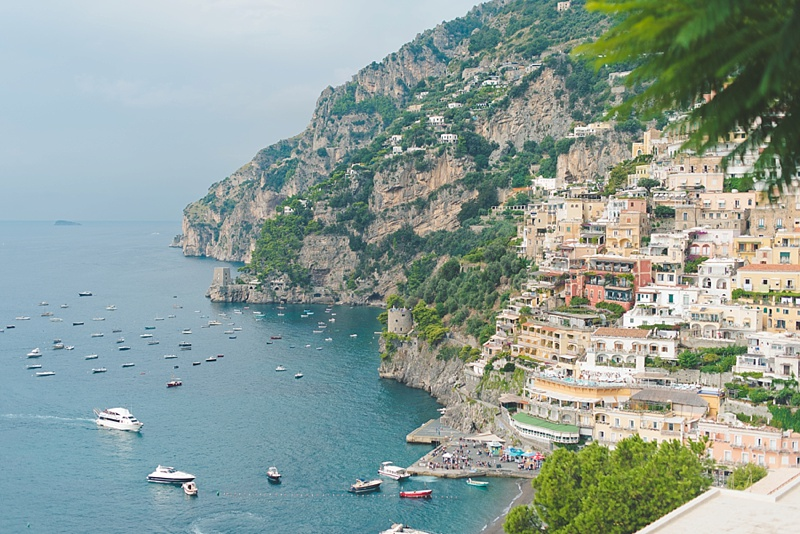 Positano Italy honeymoon ideas and how to get to the Amalfi Coast