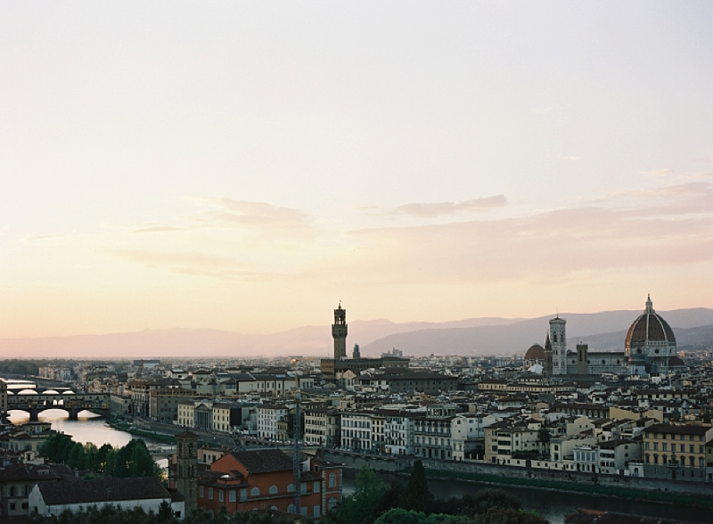 Beautiful Florentine cityscape