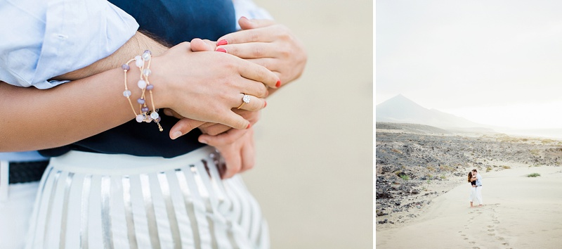 Chambray and navy blue outfit ideas for Fuerteventura