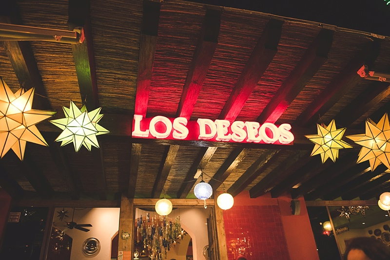 Los Deseos authentic Mexican restaurant in the Marina area in Cabo Mexico