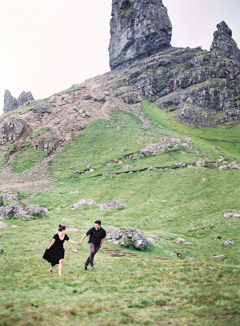 Frolicking through the Scottish Highlands