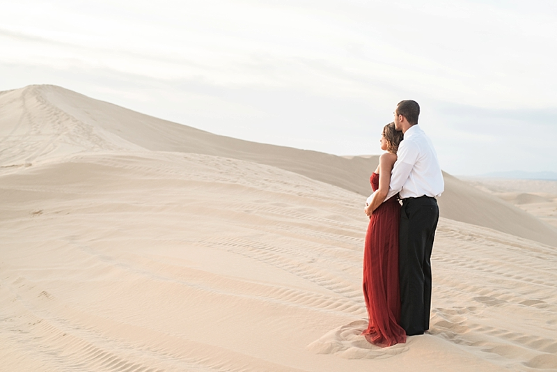 Imperial Sand Dunes California Engagement Session