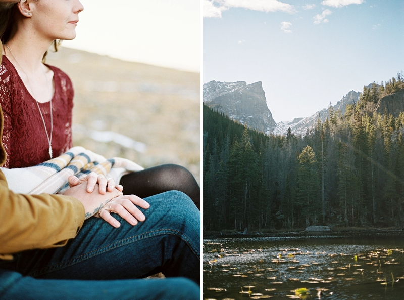 Gorgeous Rocky Mountains for the perfect rustic backdrop