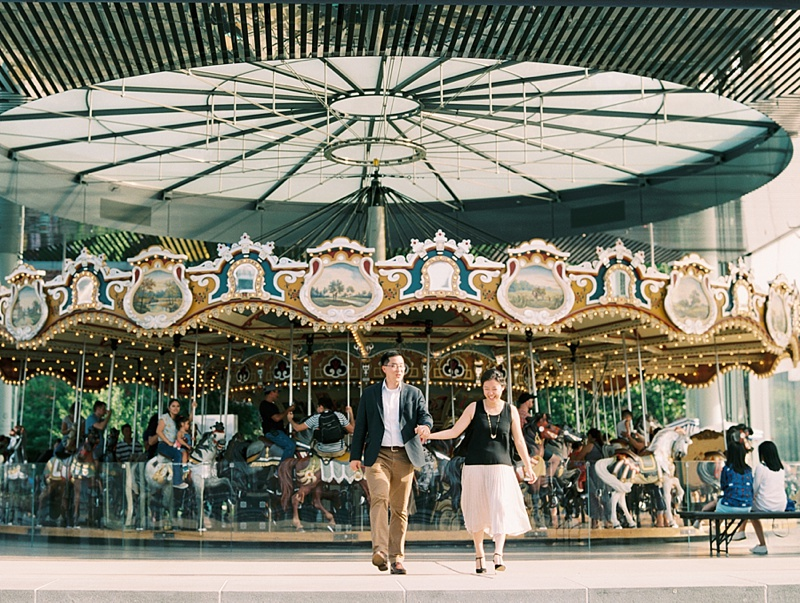 Beautiful Janes Carousel in Brooklyn Bridge Park