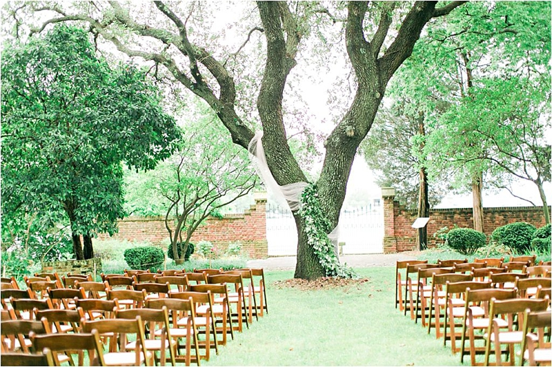 Simple and elegant eco chic wedding day at Hermitage Museum and Gardens in Norfolk Virginia