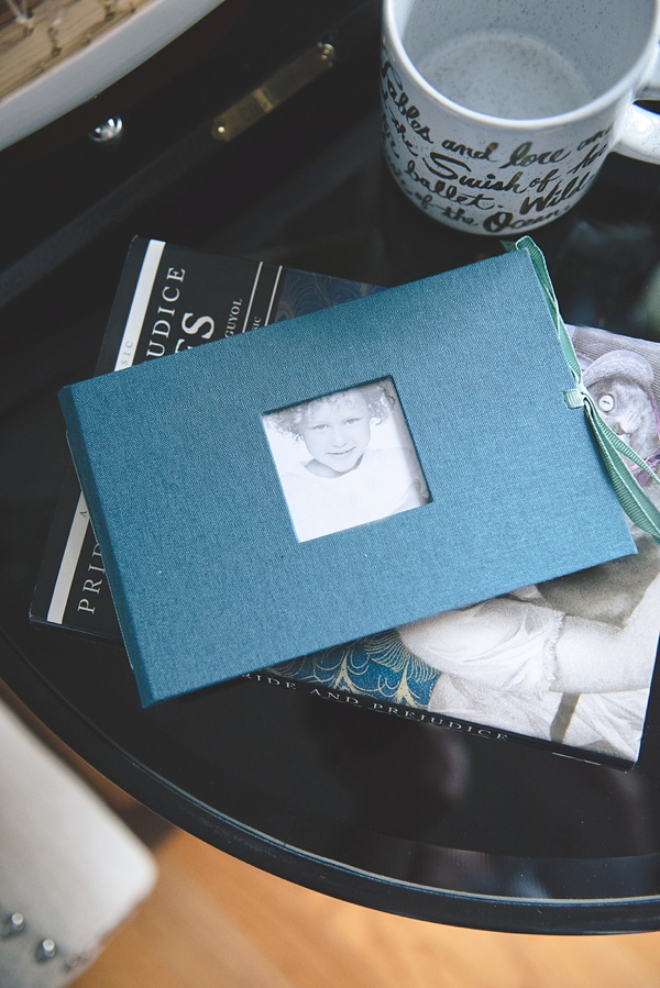Environmentally friendly heirloom photo album from Kolo for Mother of the Bride or Groom gift