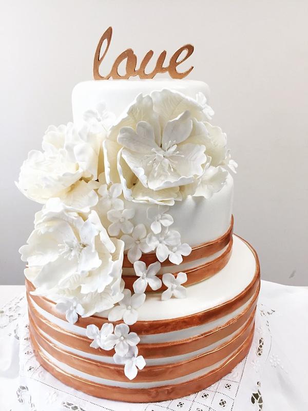 Floral Cake Topper Holder