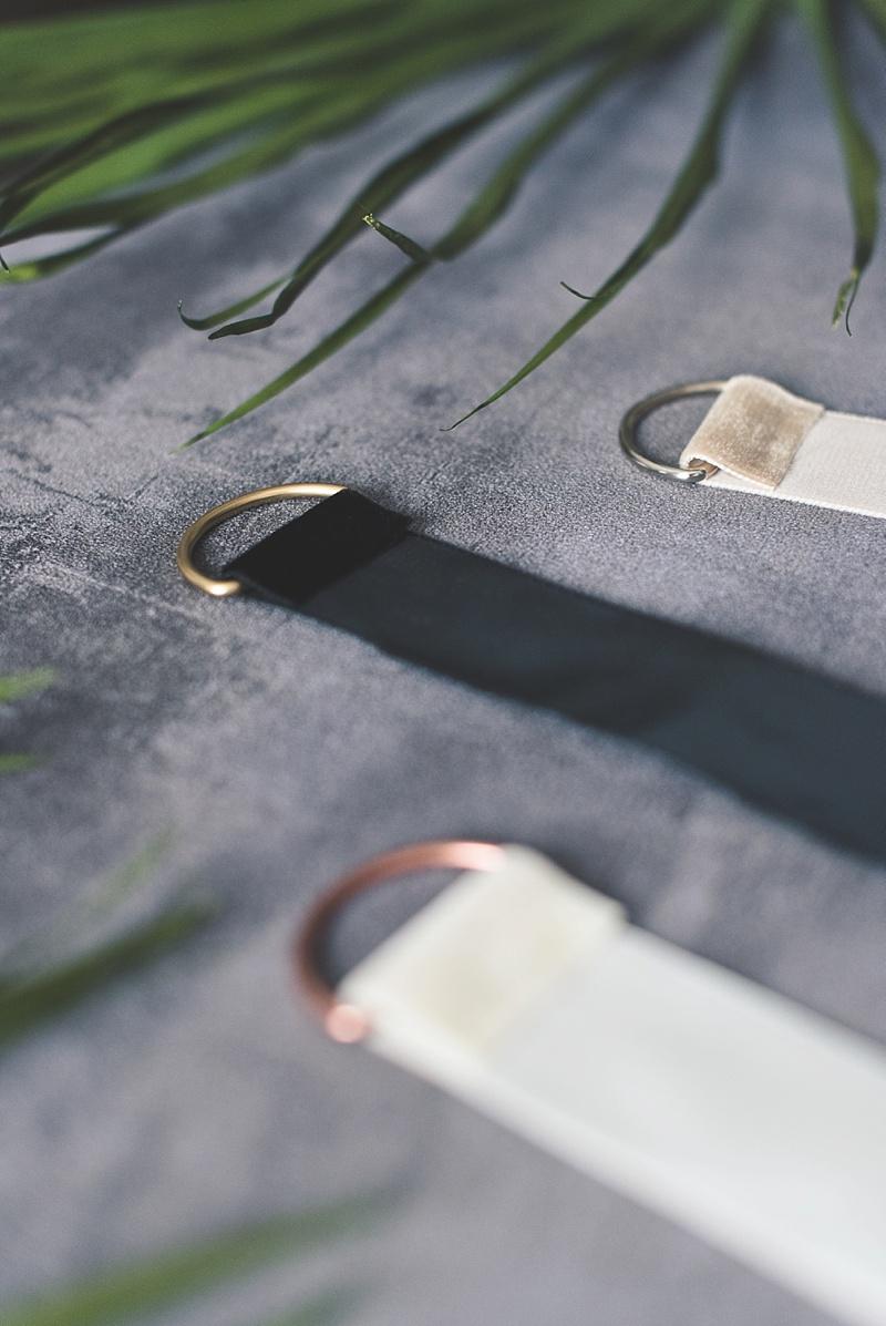 Easy to make heirloom bridal earrings display
