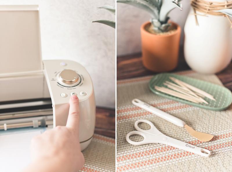 Easy bridal or wedding shower DIY projects using the Martha Stewart Wedding Bundle with Cricut