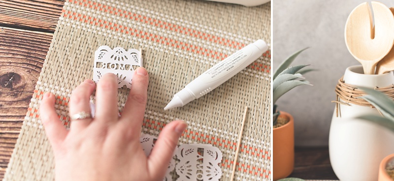 Cricut Explore Air 2 DIY project for your wedding or bridal shower