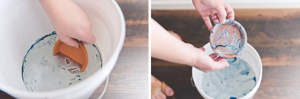 Easy DIY project for making affordable ring dishes for your bridesmaids