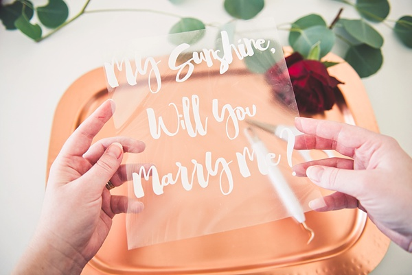 DIY Velvet Wedding Proposal graphic