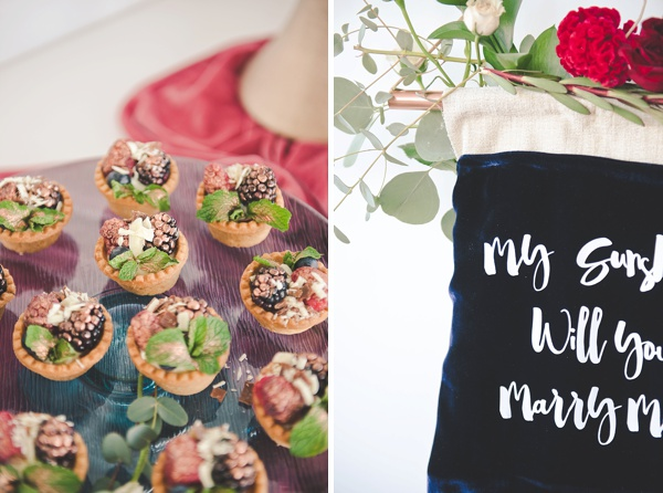 Sweet ways to make a wedding proposal special