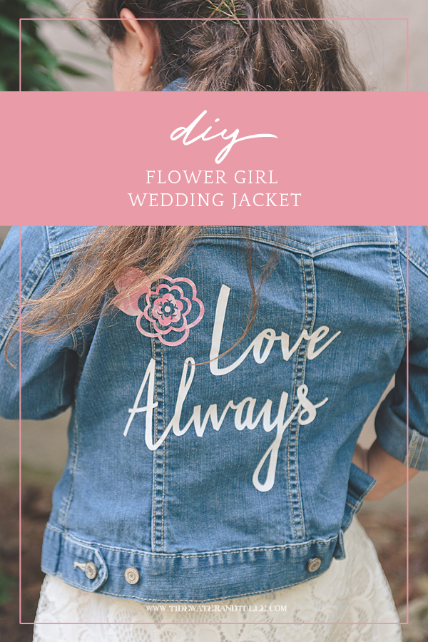 Diy Wedding Jacket With Cricut Tidewater And Tulle