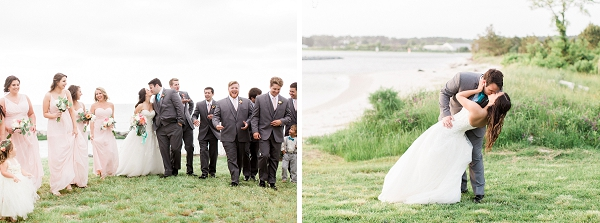 Waterside wedding portraits on Eastern Shore in Virginia