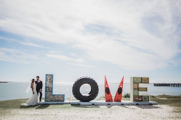 Cool LOVE sign in Cape Charles Virginia for Virginia is for Lovers