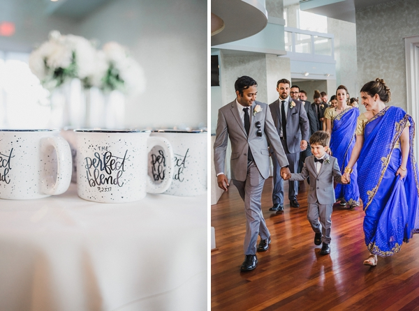 The Perfect Blend coffee mug wedding favors