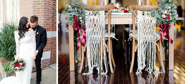 Boho wedding at Historic Post Office in Coastal Virginia