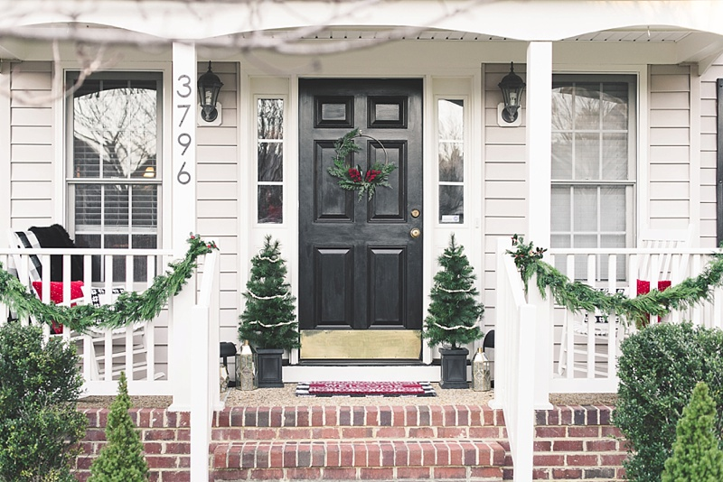 How to simply decorate and personalize your first homes front porch