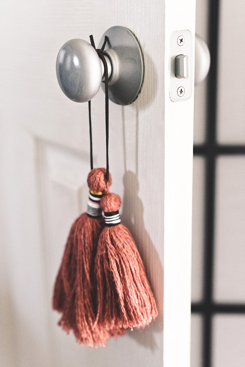 DIY brushed nickel door knobs for a home refresh