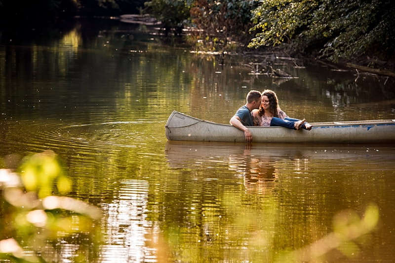 Romantic summer outdoor engagement ideas by Awesomesauce Photography in Virginia