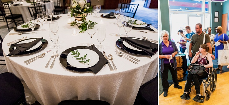 Modern wedding ideas at Town Center of Virginia Beach