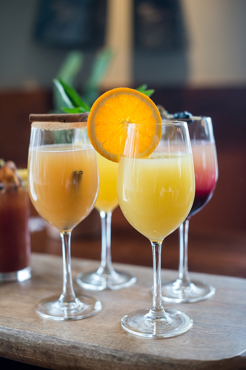 Yummy and unique mimosa drinks from Tupelo Honey