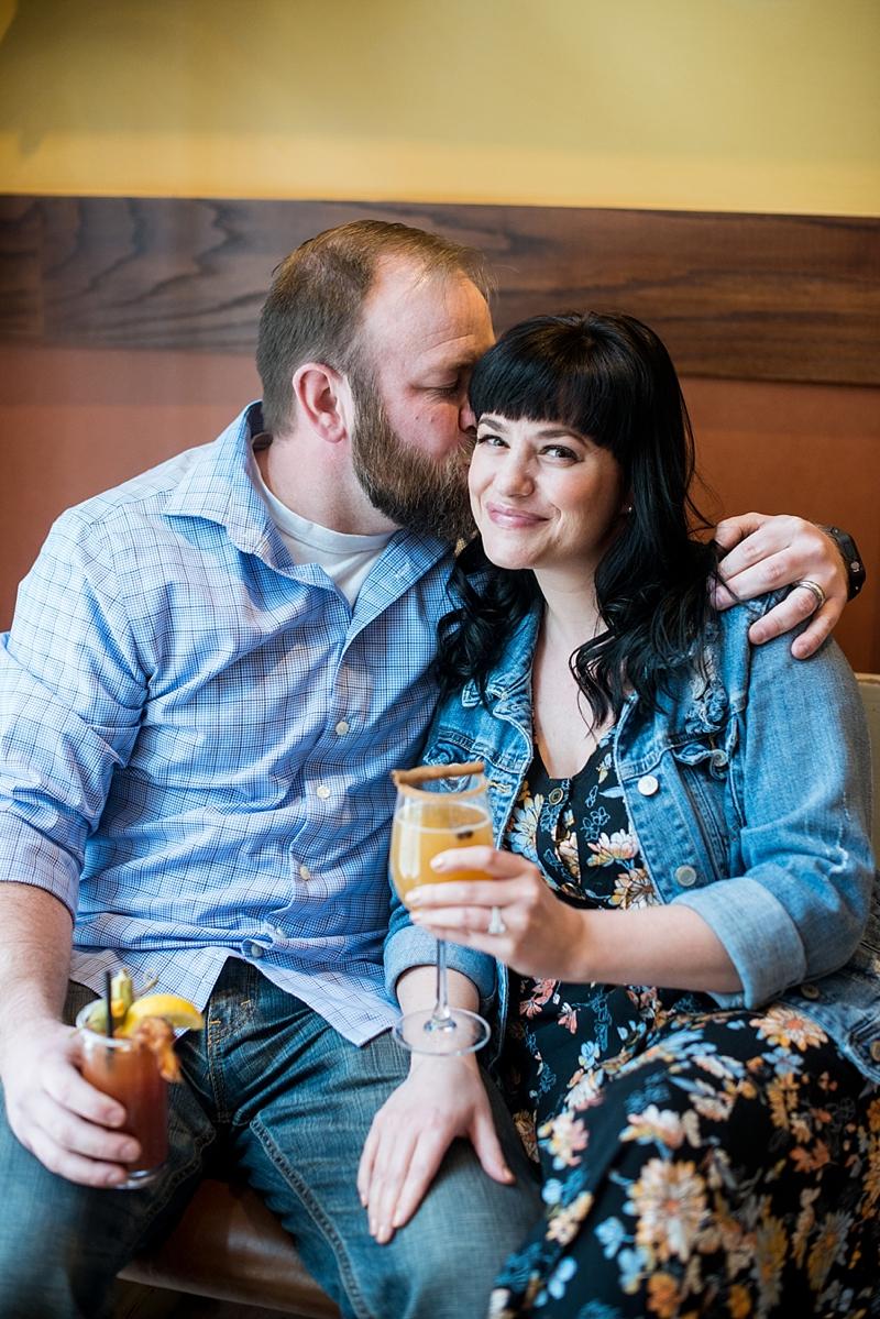 Stylish boho post wedding brunch at Tupelo Honey in Virginia Beach