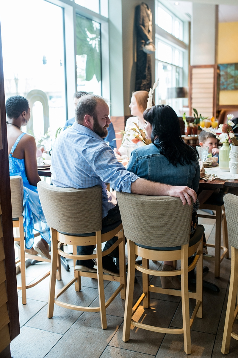 Post wedding brunch for guests and newlyweds with southern food at Tupelo Honey in Virginia Beach