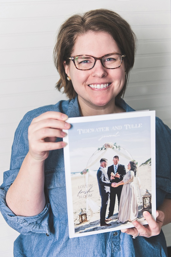 Chelsea LaVere editor in chief of Tidewater and Tulle