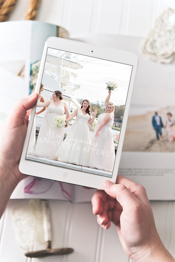 Wedding magazine featuring Coastal Virginia, Richmond, and Outer Banks weddings