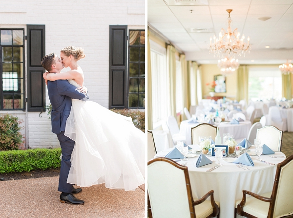 Classic James River Country Club wedding in Coastal Virginia