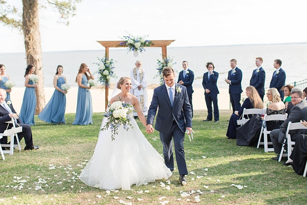 Nautical inspired James River Country Club wedding in Coastal Virginia