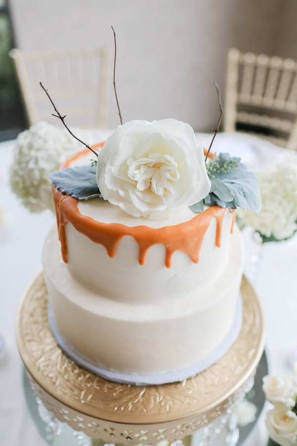 Sweet Little Cake Wedding Centerpiece in Norfolk Virginia