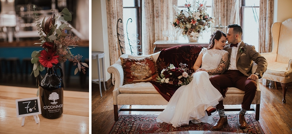 Vintage modern wedding in Hampton Roads Virginia