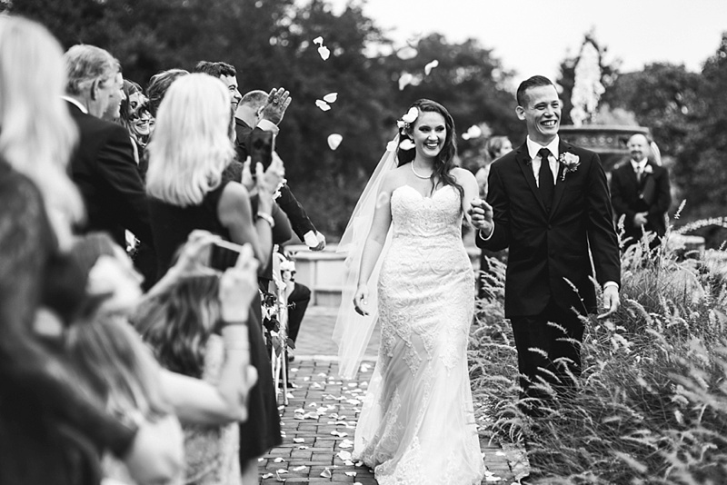 Happy Virginia bride and groom moment at Norfolk Botanical Garden