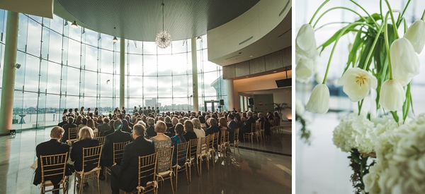 Half Moone Center wedding ceremony