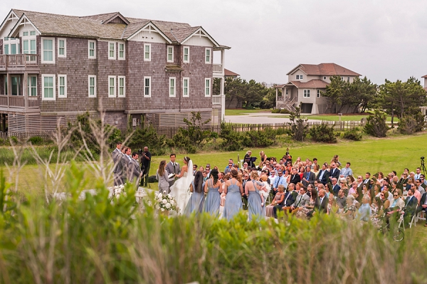 Gorgeous beach wedding at Sanderling Resort in Outer Banks