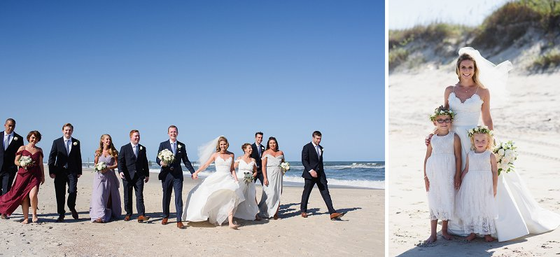 Whalehead Club wedding for Outer Banks destination celebration