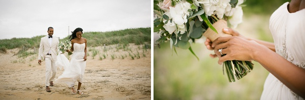Outer Banks wedding couple