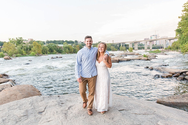 Belle Isle engagement session in Virginia