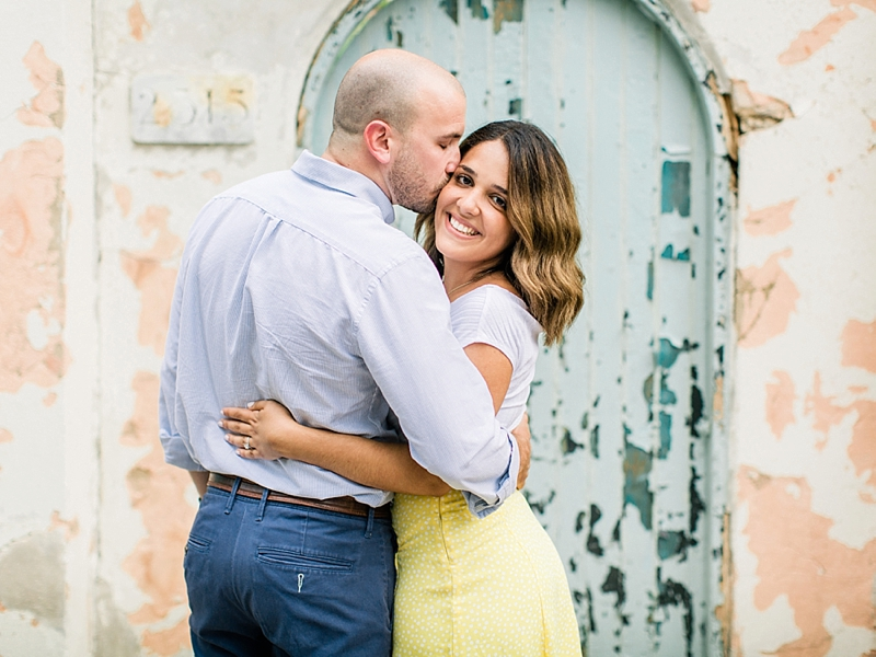 Libby Hill Park engagement pictures for Richmond Virginia wedding couples