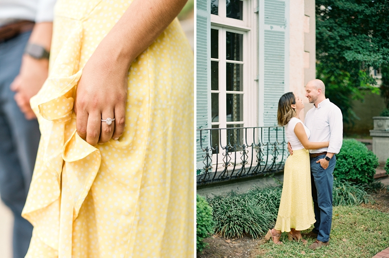 Classic engagement photo ideas for Richmond Virginia