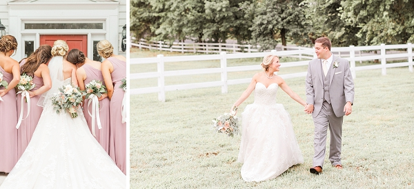 Fairytale rustic wedding at Amber Grove in Virginia