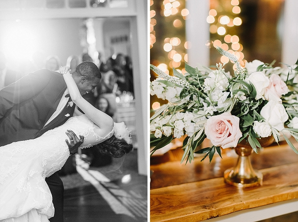 Christmas wedding inspiration at Mill at Fine Creek