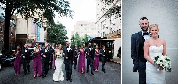 Downtown urban wedding in Richmond Virginia