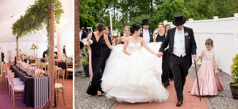 Elegant classic wedding ideas for a Virginia wedding