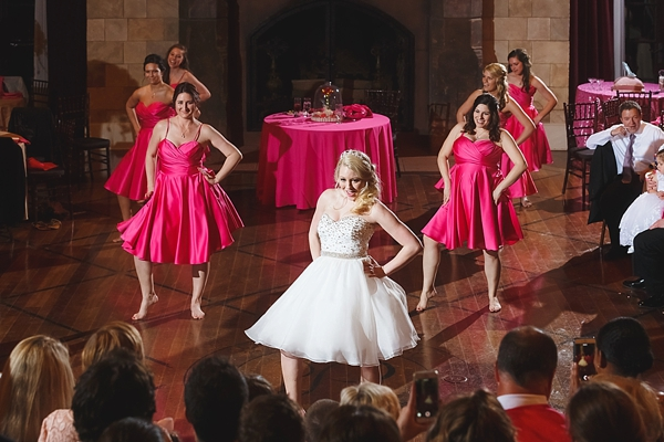 Fun choreographed wedding dance to Christina Aguilera