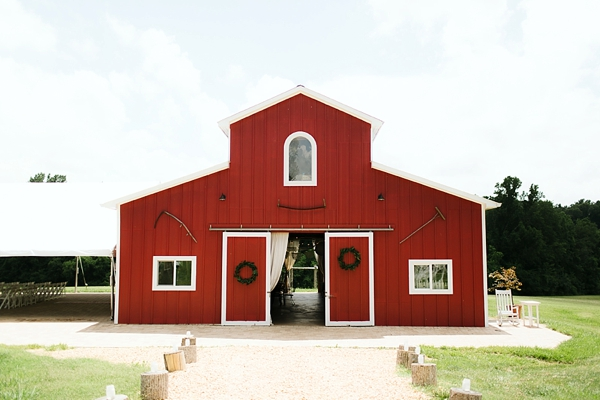 Adams International School wedding barn in Virginia